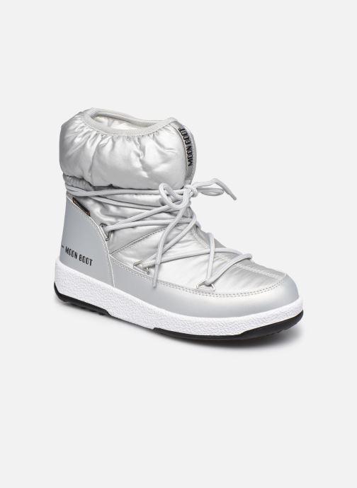 Sportschuhe Moon Boot Moon Boot W,E JR Girl Low Nylon WP silber detaillierte ansicht/modell