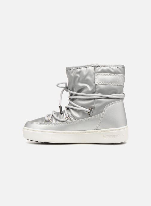 Chaussures de sport Moon Boot Moon Boot Pulse JR Girl Nylon Plus WP Argent vue face