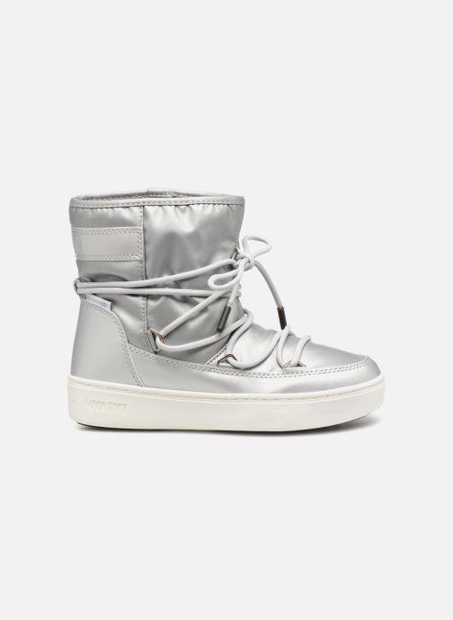 Chaussures de sport Moon Boot Moon Boot Pulse JR Girl Nylon Plus WP Argent vue derrière