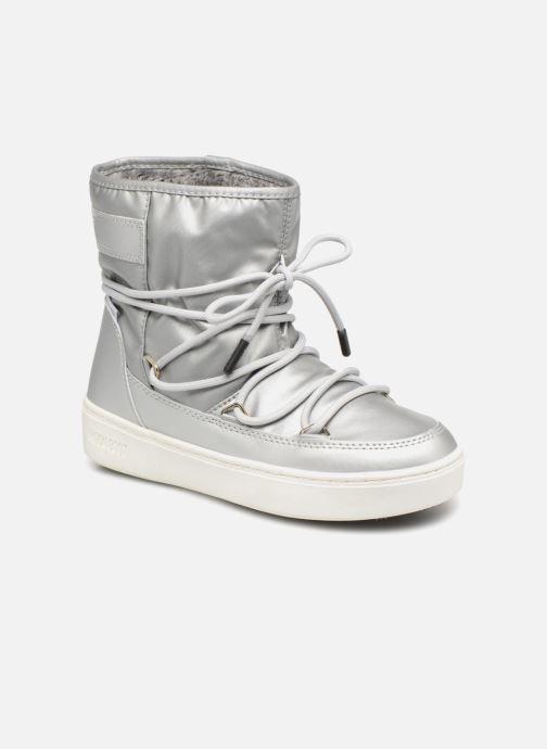 Zapatillas de deporte Moon Boot Moon Boot Pulse JR Girl Nylon Plus WP Plateado vista de detalle / par