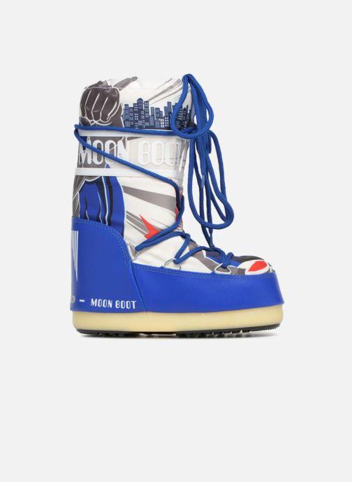 Sportschuhe Moon Boot Moon Boot JR Boy Superhero blau ansicht von hinten