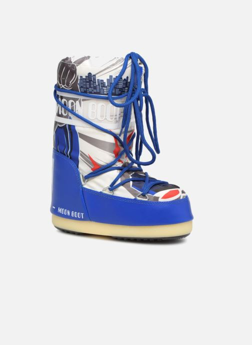 Chaussures de sport Moon Boot Moon Boot JR Boy Superhero Bleu vue détail/paire