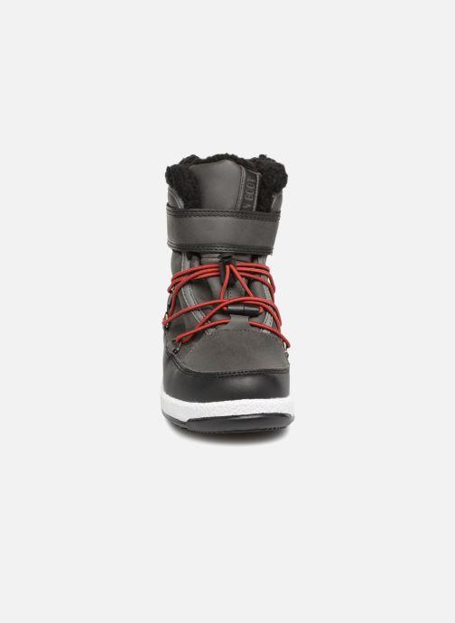 Sportschuhe Moon Boot Moon Boot W,E JR Boy Boot WP grau schuhe getragen