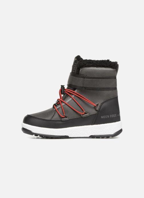 Chaussures de sport Moon Boot Moon Boot W,E JR Boy Boot WP Gris vue face