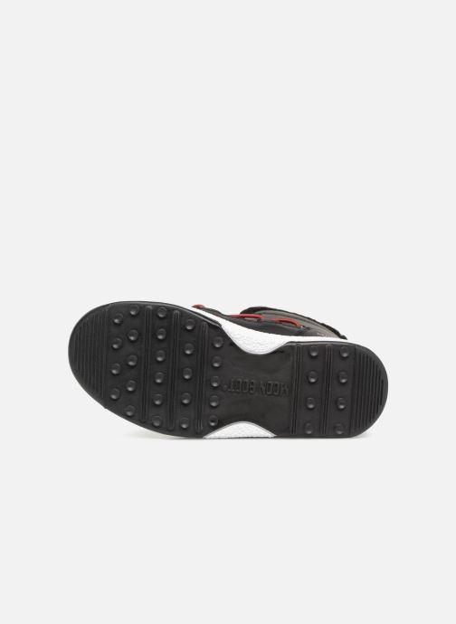 Chaussures de sport Moon Boot Moon Boot W,E JR Boy Boot WP Gris vue haut