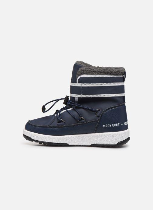 Chaussures de sport Moon Boot Moon Boot W,E JR Boy Boot WP Bleu vue face
