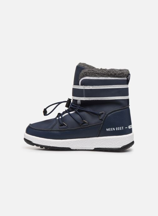 Scarpe sportive Moon Boot Moon Boot W,E JR Boy Boot WP Azzurro immagine frontale