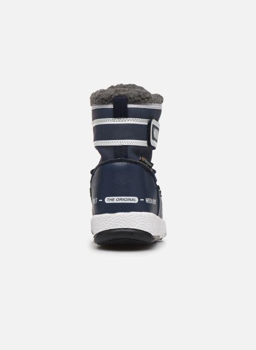 Zapatillas de deporte Moon Boot Moon Boot W,E JR Boy Boot WP Azul vista lateral derecha