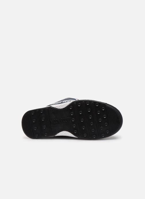 Chaussures de sport Moon Boot Moon Boot W,E JR Boy Boot WP Bleu vue haut