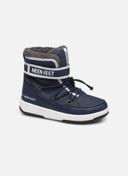 Sportschuhe Moon Boot Moon Boot W,E JR Boy Boot WP blau detaillierte ansicht/modell