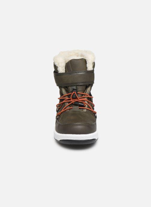 Chaussures de sport Moon Boot Moon Boot W,E JR Boy Boot WP Vert vue portées chaussures