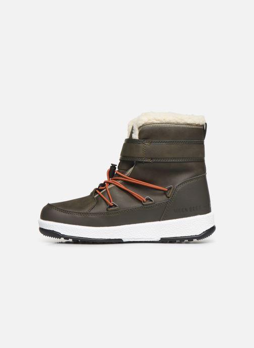 Chaussures de sport Moon Boot Moon Boot W,E JR Boy Boot WP Vert vue face