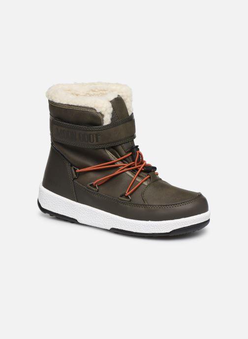 Chaussures de sport Moon Boot Moon Boot W,E JR Boy Boot WP Vert vue détail/paire