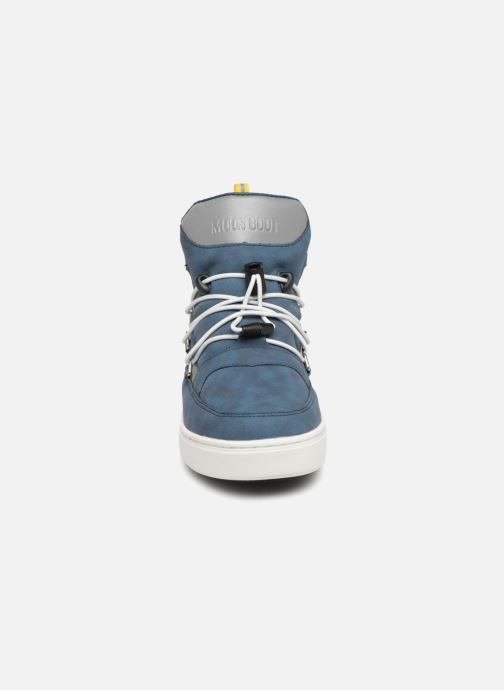 Chaussures de sport Moon Boot Moon Boot Pulse JR Boy Detroit Bleu vue portées chaussures