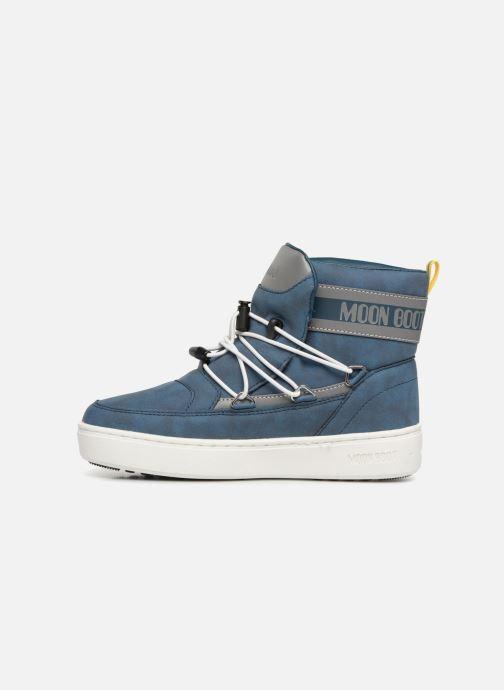 Chaussures de sport Moon Boot Moon Boot Pulse JR Boy Detroit Bleu vue face