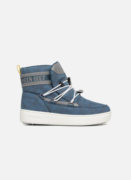 Chaussures de sport Moon Boot Moon Boot Pulse JR Boy Detroit Bleu vue derrière