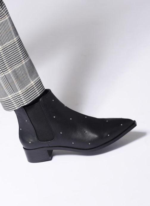 Bottines et boots SENSO Lucy I Noir vue bas / vue portée sac
