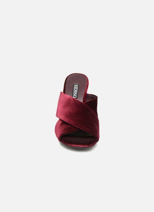 Mules et sabots SENSO Poppy Bordeaux vue portées chaussures