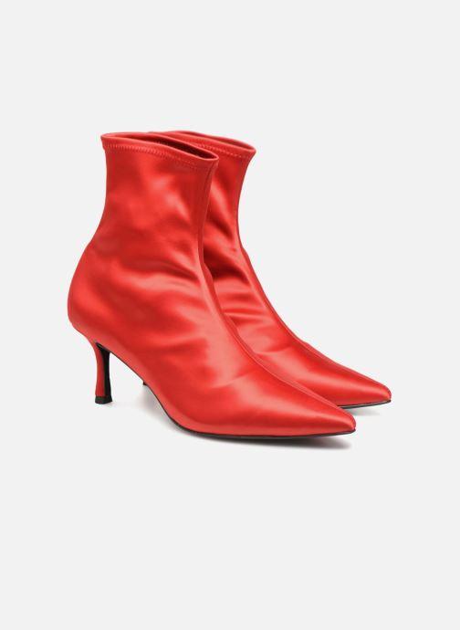Bottines et boots SENSO Qweene III Rouge vue 3/4