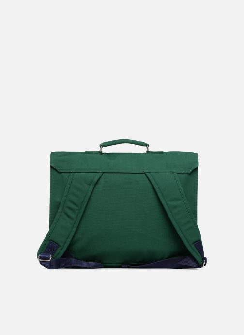 Bandoleras y Colegio Bakker Made With Love CARTABLE 37 CM JEAN&PATCHS Verde vista de frente