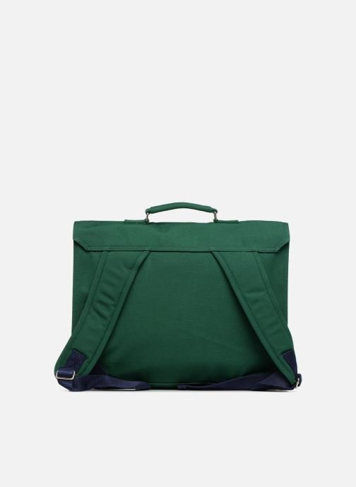 School bags Bakker Made With Love CARTABLE 37 CM JEAN&PATCHS Green front view