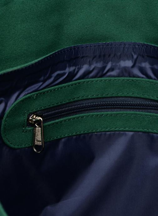 School bags Bakker Made With Love CARTABLE 37 CM JEAN&PATCHS Green back view