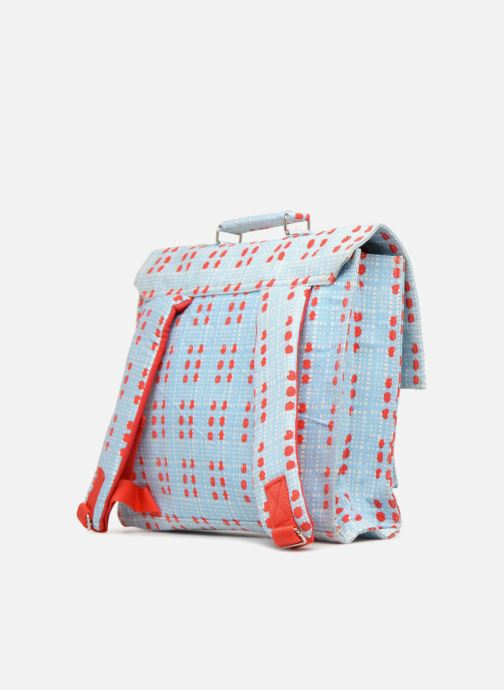 School bags Bakker Made With Love CARTABLE 37 CM REIKO Blue view from the right