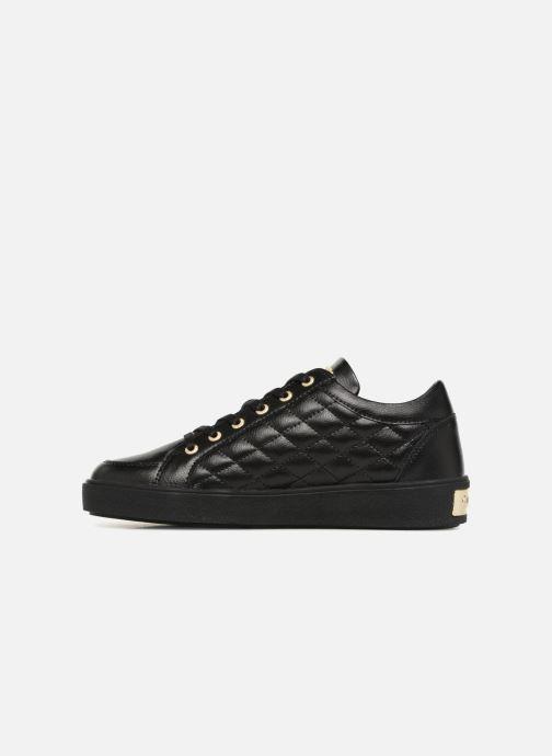 Sneakers Guess Gleena Zwart voorkant