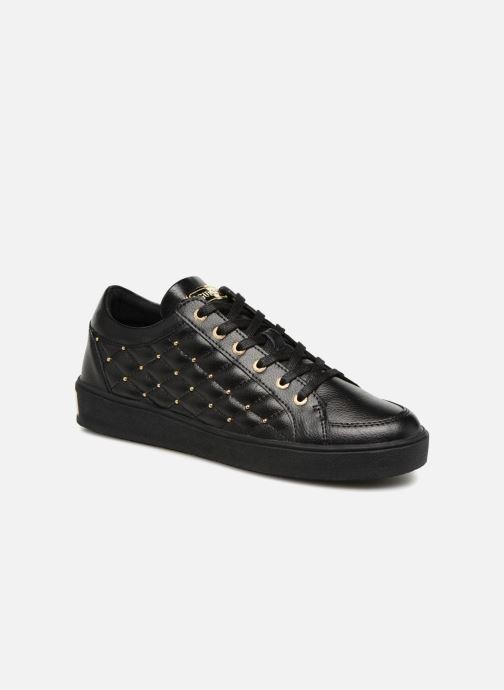 Sneakers Guess Gleena Zwart detail