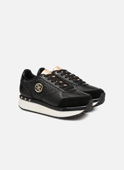 Guess Tiffany (Zwart) Sneakers chez Sarenza (332883)