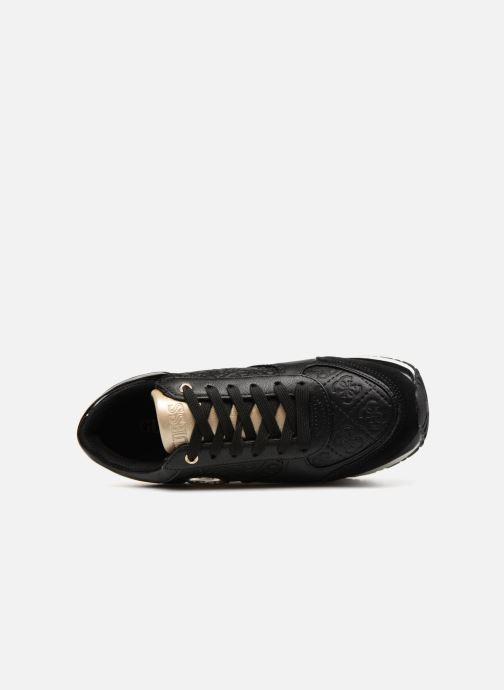 Sneaker Guess Tiffany schwarz ansicht von links
