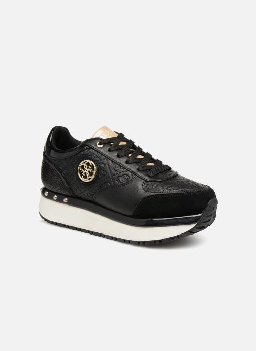 Sneakers Guess Tiffany Sort detaljeret billede af skoene