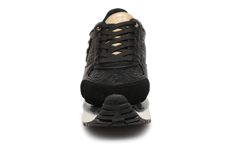 Sneaker Guess Tiffany schwarz schuhe getragen