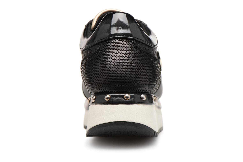 Sneaker Guess Tiffany schwarz ansicht von rechts
