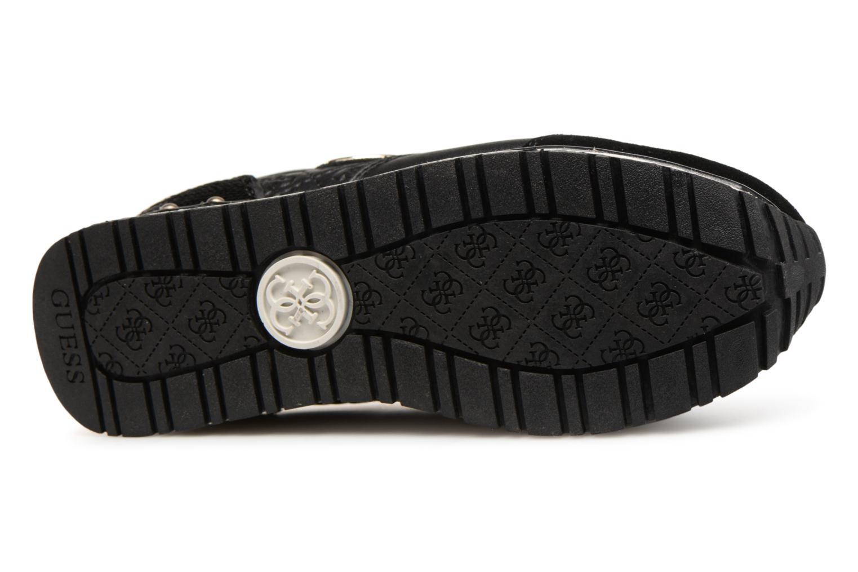 Sneaker Guess Tiffany schwarz ansicht von oben