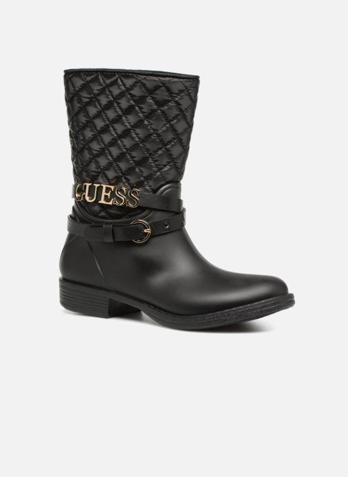 Ankelstøvler Guess Rany Sort detaljeret billede af skoene