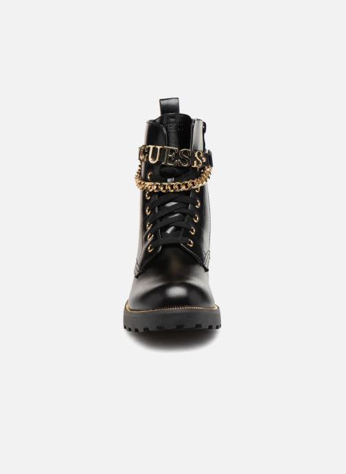 Ankelstøvler Guess Nina 2 Sort se skoene på