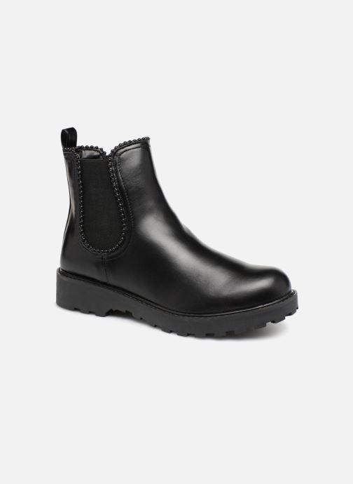 Ankelstøvler Guess Nola Sort detaljeret billede af skoene