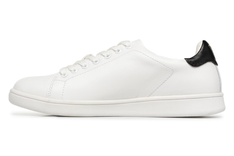 Sneaker Guess Super  4 weiß ansicht von vorne