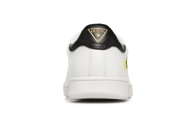 Sneaker Guess Super  4 weiß ansicht von rechts