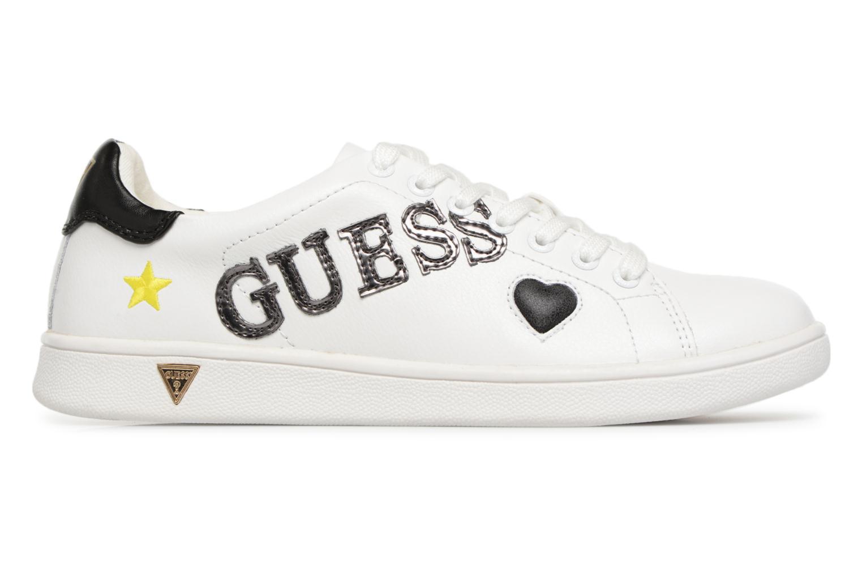 Sneaker Guess Super  4 weiß ansicht von hinten