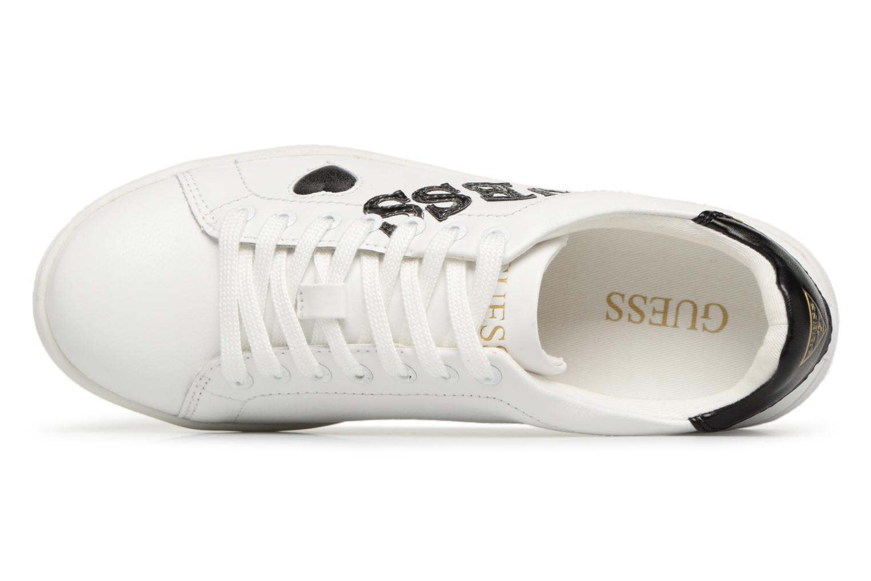 Sneaker Guess Super  4 weiß ansicht von links