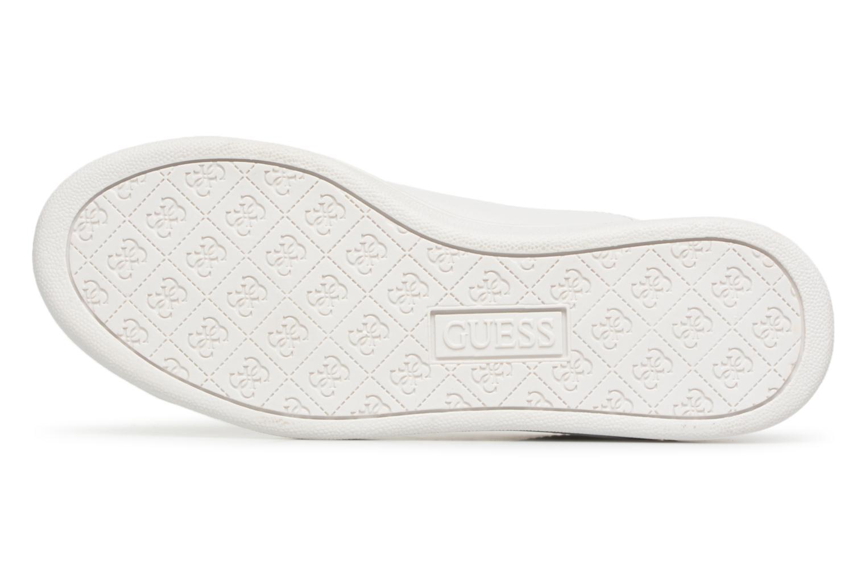 Sneaker Guess Super  4 weiß ansicht von oben