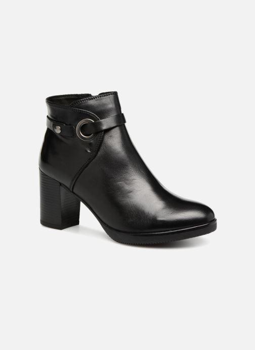Bottines et boots Georgia Rose Dorina Noir vue détail/paire