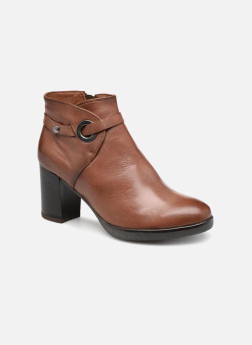 Bottines et boots Georgia Rose Dorina Marron vue détail/paire