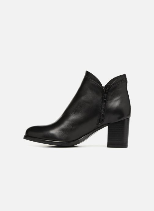 Bottines et boots Georgia Rose Docrocca Noir vue face
