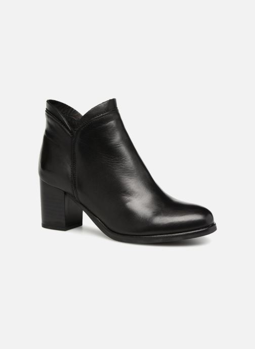 Ankle boots Georgia Rose Docrocca Black detailed view/ Pair view