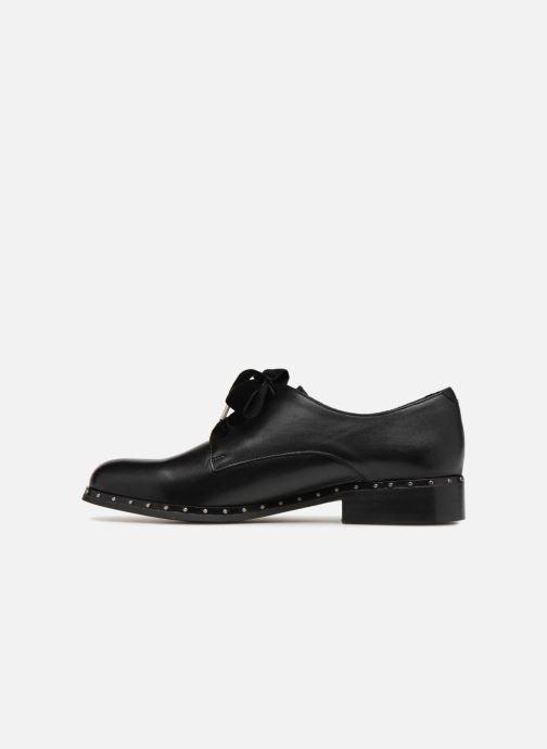 Chaussures à lacets Georgia Rose Clouta Noir vue face