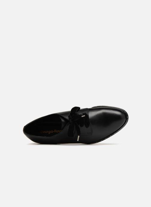 Chaussures à lacets Georgia Rose Clouta Noir vue gauche