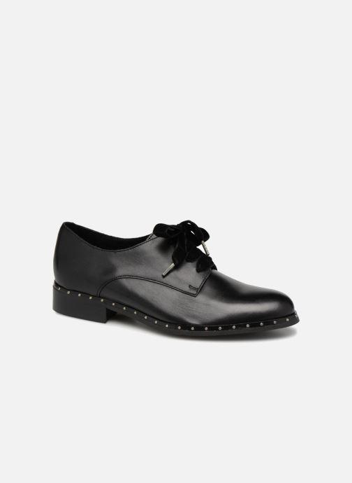 Chaussures à lacets Georgia Rose Clouta Noir vue détail/paire